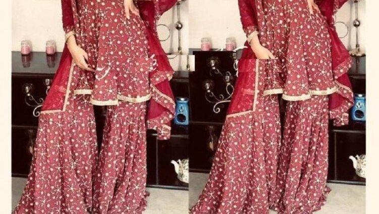 Sharara Suits for Wedding